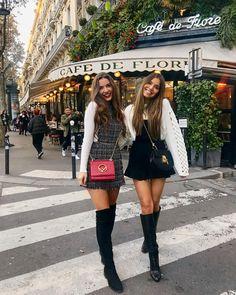 "Sophie Knight on Instagram: ""Twinning in Paris ❤️"""