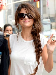 Selena Gomez Soft Side Braid