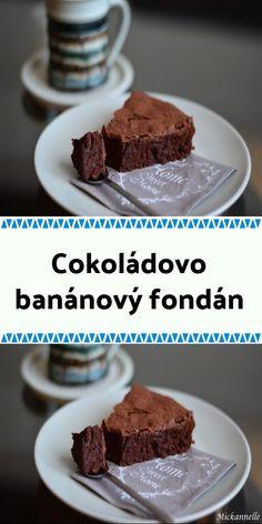 Cokoládovo-banánový fondán