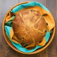 Pumpkin Raisin Bread