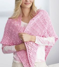 PRAYER shawl - FREE pattern!  AWESOME Charity item for Breast Cancer Patients