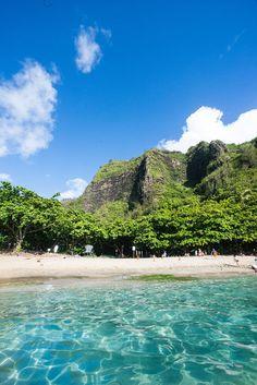 Ke'e Beach Kauai Hawaii / Etsy