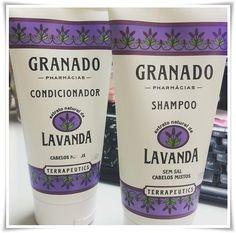 """Granado lança Shampoo & Condicionador Lavanda, da linha Terrapeutics"""