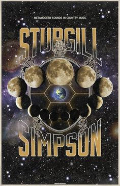 Metamodern Sounds in Country Music Poster | Sturgill Simpson