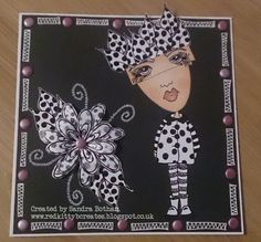Red Kitty B Creates: Dylusions Cards