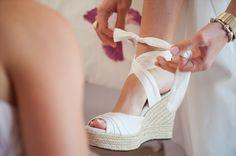 Ce que Martine aime - Inspirations mariage: Des espadrilles pour son mariage