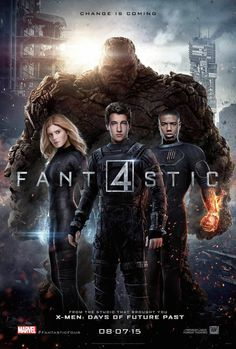 Fantastic Four (2015) 驚奇4超人 ★★★☆ 2015