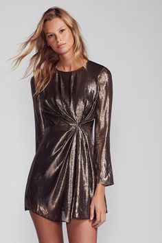 b04d9116 Shop our Allegra Lamé Mini Dress at FreePeople.com. Share style pics with FP