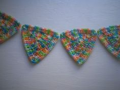 Would you like yarn with that?: The Ultimate Triangle Garland--FREE Pattern!