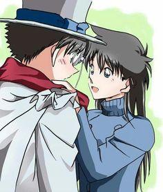 Aoko y Kaito Kid