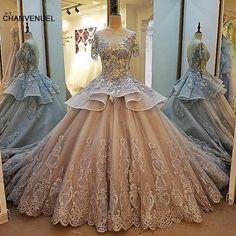 e0376a21aba LS00014 evening dress lace beading ball gown long party formal dress  organza robe de soiree abendkleider