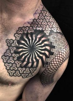 60 Epic Tattoos All Men Will Want To Copy - Straight Blasted Cool Shoulder Tattoos, Cool Chest Tattoos, Body Art Tattoos, Sleeve Tattoos, Cool Tattoos, Tatoos, Amazing Tattoos, Arm Tattoos, Tattoo Art
