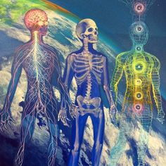 #MindBodyandSoul via @mear_one underneath it all we are one in the same. #