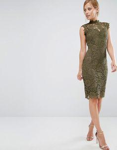 Bild 4 von Paper Dolls – Hochgeschlossenes Kleid aus Spitze