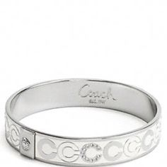 Coach bracelet - I have this one in purple