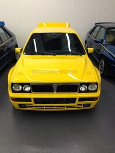 Not Just any #Lancia #Delta Integrale... This is the Giallo Ginestra Limited Edition.