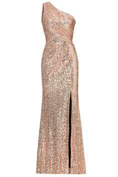 Badgley Mischka Blush Constellation Gown