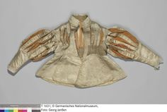 GNM T1631 (1630-1640) doublet showing construction of slashes.  Thanks to The Curious Frau for adding to our research!