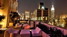 """Magnifica vista dal terrazzo dello """"Sky Room"""", Times Square, NY"""