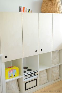 The IKEA Kallax line Storage furniture is an essential section of any home. They offer obtain and help you hold track. Fashionable and wonderfully easy the corner Kallax from Ikea , for example. Ikea Kallax Hack, Ikea Expedit Shelf, Ikea Regal Expedit, Kallax Regal, Ikea Storage, Toy Storage, Diy Cabinet Doors, Diy Cabinets, Armoires Diy
