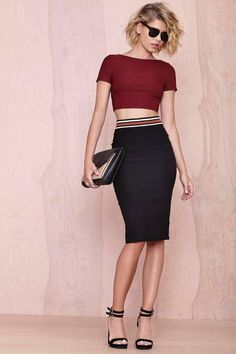 Nasty Gal High Maintenance Top - Basics | Tops | Cropped |  | Tops | Clothes