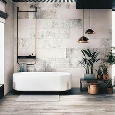 t h e . s p a . l a b ~ love this bathroom #dreambathroom #interiors #decor