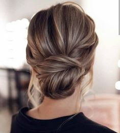 15 Stunning Low Bun Updo Wedding Hairstyles from Tonyastylist cla. - 15 Stunning Low Bun Updo Wedding Hairstyles from Tonyastylist classic updo wedding h - Wedding Hairstyles For Long Hair, Wedding Hair And Makeup, Bob Hairstyles, Hair Updos For Medium Hair, Bridesmaid Updo Hairstyles, Classic Updo Hairstyles, Loose Updo, Long Bob Updo, Bridal Hair Half Up Medium