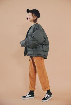 Corrugated Drawstring Pants   STYLENANDA