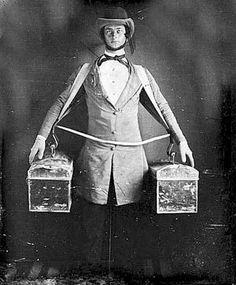 Occupation. Peddler, ca. 1840 daguerreotype.