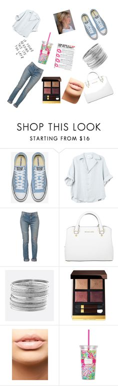 """""""Old school,new school"""" by stephen-james-lover ❤ liked on Polyvore featuring Yves Saint Laurent, Michael Kors, Avenue, Tom Ford, MDMflow and Lilly Pulitzer"""