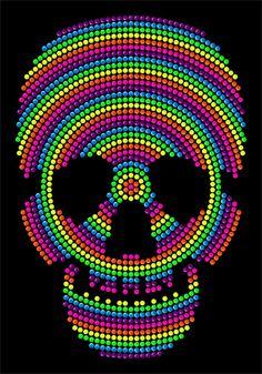 Colorful rhinestone transfers skull skeleton  iron on decals,custom skull patterns for t-shirts