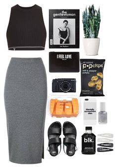 """""""Untitled #159"""" by vision27 ❤ liked on Polyvore featuring T By Alexander Wang, Whistles, ASOS, Givenchy, Essie, Forever 21, women's clothing, women, female and woman"""