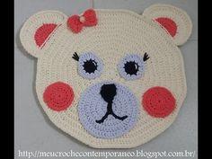 Os Tapetes Infantis Urso Zequinha e Ursa Sofia, vão inovar a decoração do quarto das crianças. Produzidos com fio de malha, os tapetes se tornam peças mais f...