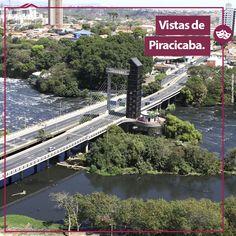 """Já redescobriu Piracicaba hoje?  A cidade é uma surpresa a cada novo ângulo, e que beleza é ver tudo isso! O elevador turístico """"Alto do Mirante"""" é um belo exemplo de uma vista verdadeiramente privilegiada da nossa cidade!"""