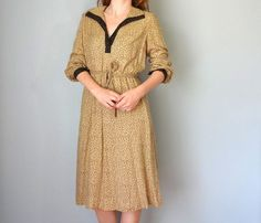 Vintage UMBRIA Dress / 1970s Clothing / Carillon by BluegrassBooty, $34.00