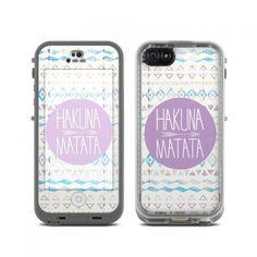 Hakuna Matata LifeProof iPhone 5c fre Skin