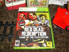 Red Dead Redemption & All Downloadable Content Brand New & Sealed #videogames #xbox360 #reddeadredemption #undeadnightmare #complete #new