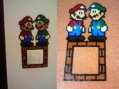 cubre interruptor modelo Mario Bros