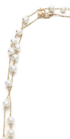 Juliet & Company Imitation Pearl Wrap Necklace | SHOPBOP SAVE UP TO 25% Use Code:GOBIG15