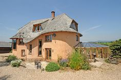 A grand designer in Devon is selling his house made from mud | Homes & Property