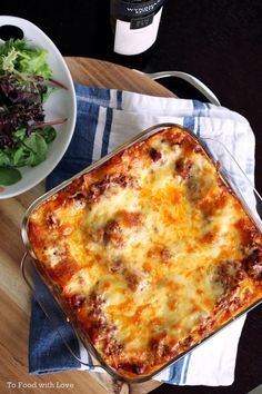To Food with Love: Beef Lasagne