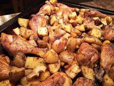 South Your Mouth: One-Pan Roasted Chicken & Potato Bake