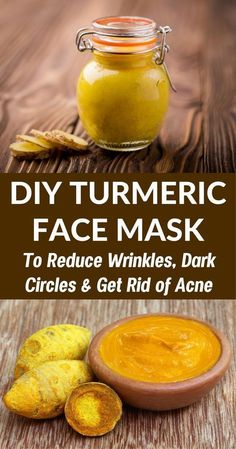 This natural homemade turmeric face mask will brighten your skin, cure acne scars, reduce dark circles and make your skin glow!