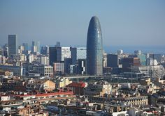 Agbar Tower in Barcelona, Spain, Jean Nouvel, architect