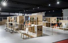 Our stand Milan Design Week - Salone del Mobile Milano #standdesign #milandesignweek