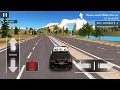 new police car driving off road android game play best games for kid