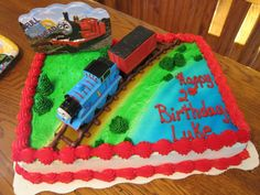 Thomas The Train Birthday Cake - Google Search