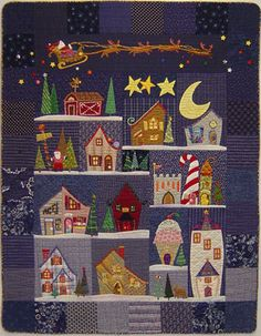 If you are looking for Christmas quilt patterns then look no further. We have compiled a list of amazing Christmas quilt patterns for your perusal. Christmas Sewing, Christmas Crafts, Christmas Quilting, Christmas Tables, Christmas Lights, Christmas Ornaments, Quilting Projects, Quilting Designs, Quilt Design