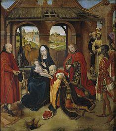 Adorazione dei Magi by Gentile da Fabriano - Predella - Adoration of the Magi - Wikipedia