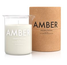 Laboratory Perfumes Amber Candle: Laboratory Perfumes Amber Candle 200g Laboratory Perfumes Amber Candle 200g.Laboratory Perfumes' very first fragrance is a multilayered and long-lasting scent intended to evoke Britain's country and coast. Our aim was to create a fragrance that offered more than an alluring top note, that didn't give up all its secrets in the first spritz, but which gradually revealed its complex, well-rounded character as it evolves on the skin. Amber follows the wearer…